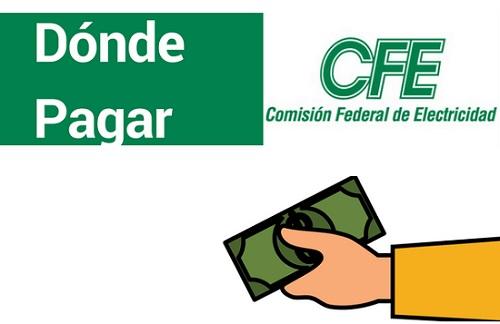 donde pagar CFE